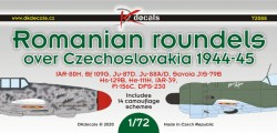 Romanian roundels over Czechoslovakia 1944-1945