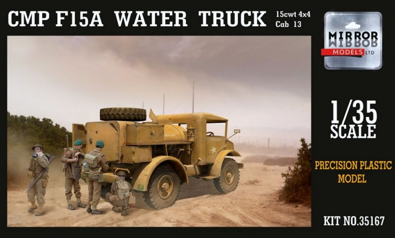 MP FORD F15 WATER TRUCK 15CWT 4X2 CAB 13