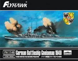 German Battleship Gneisenau 1940