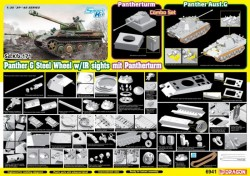 Panther Ausf.G Late Production (Steel Wheel) mit Pantherturm