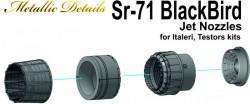 SR-71 Blackbird. Jet nozzles (Testors/Italeri)