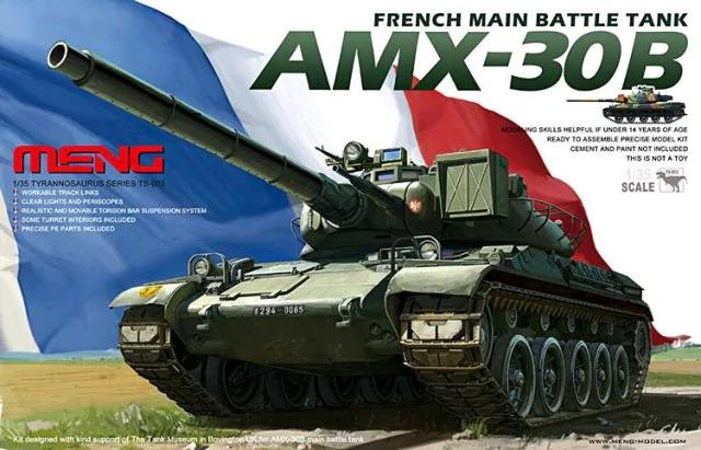 French AMX-30B Main Battle Tank