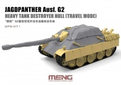 Jagdpanther Ausf. G2 Heavy Tank Destroyer Hull (Travel Mode) (Resin)