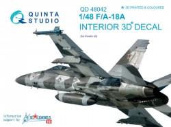 F/A-18A Interior 3D Decal