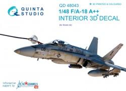 F/A-18A++ Interior 3D Decal