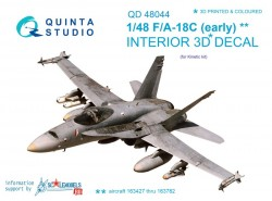 F/A-18C (early) Interior 3D Decal