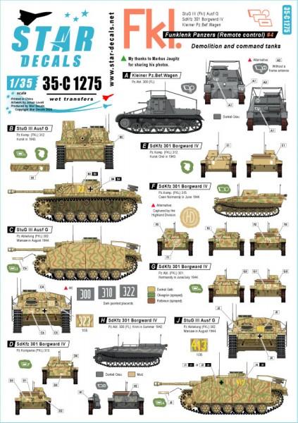 German Funklenk tanks # 4