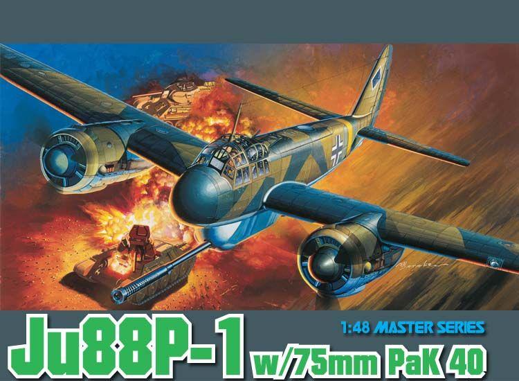 Ju88P1 With 75mm Pak40