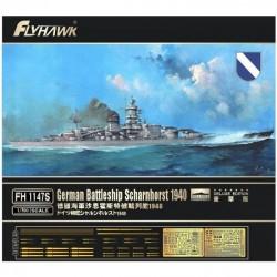 German Battleship Scharnhorst 1940 Deluxe Edition