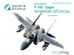 F-15C Interior 3D Decal