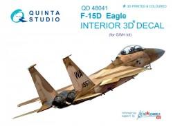 F-15D Interior 3D Decal