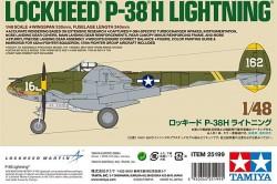P-38 H Lightning (White Box)