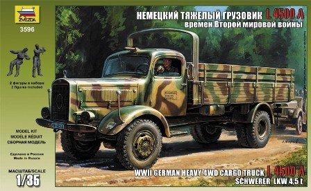 Mersedes L4500A - German WWII cargo truck