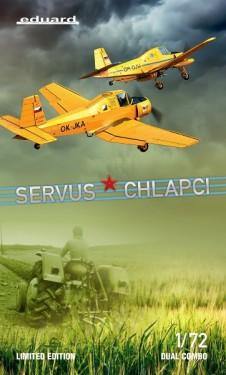 SERVUS CHLAPCI (Z-37A Čmelák) Dual Combo