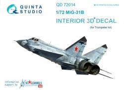 MiG-31B Interior 3D Decal