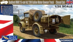 Bedford MWC 15-cwt 4x2 200 Gallon Water Truck