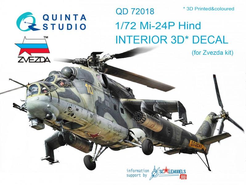 Mi-24P Interior 3D Decal
