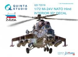 Mi-24V Interior 3D Decal