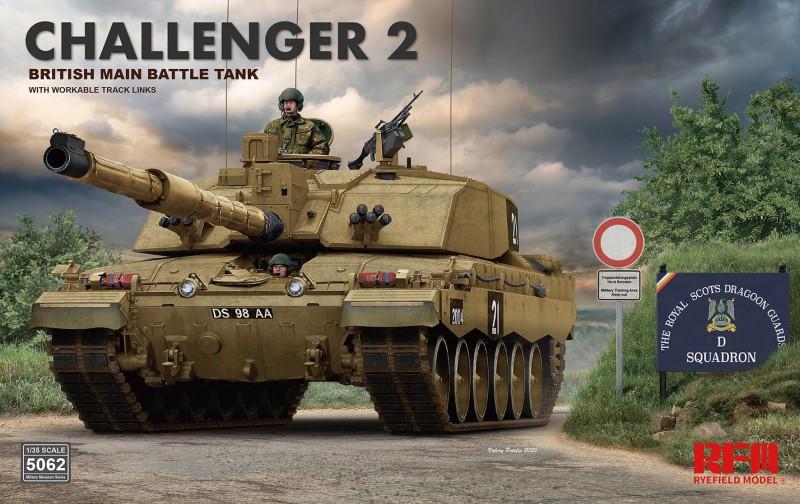 British Challenger 2 w/workable track links