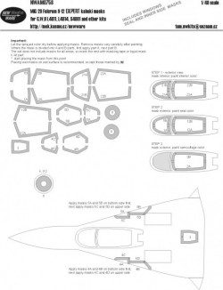 MiG-29 Fulcrum 9-12 EXPERT kabuki masks