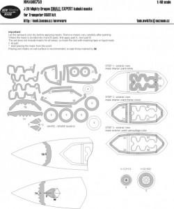 J-20 Mighty Dragon SMALL EXPERT kabuki masks