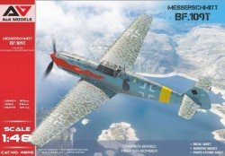 Bf-109T1/T2 Carrier-based fighter-bomber