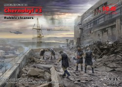 Chernobyl 3. Rubble cleaners (5 figures)