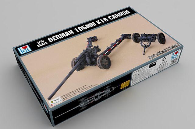 German 105mm K18 Cannon