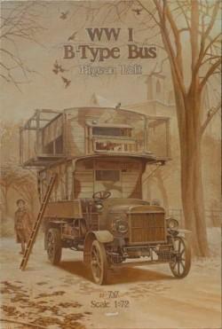 "Type B WWI Bus ""Pigeon Loft"