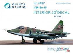 Su-25 Interior 3D Decal
