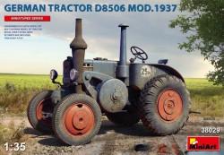 German Tractor D8506 Mod. 1937