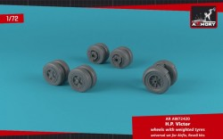 Handley-Page Victor wheels w/ weighted tires