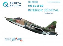 Su-25SM Interior 3D Decal