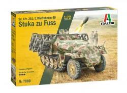 Sd. Kfz. 251/1 Wurfrahmen Stuka zu Fuss