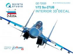 Su-27UB Interior 3D Decal