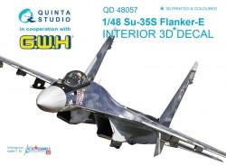 Su-35S Interior 3D Decal