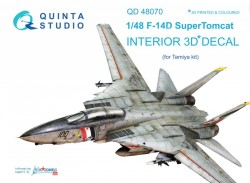 F-14D Interior 3D Decal