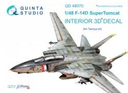 F-14D Interior 3D Decal
