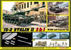 JS-2 Stalin II (3 in 1) + Soviet Infantry Tank Riders