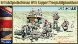 British Special Forces w/ Support Troops (Afgh.)
