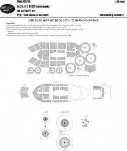 Do 217J-1/2 BASIC kabuki masks