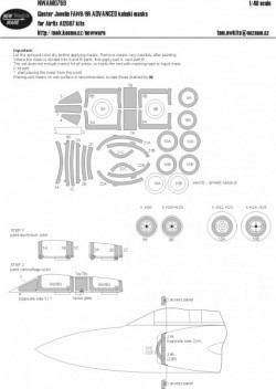 Gloster Javelin FAW9/9R ADVANCED kabuki masks