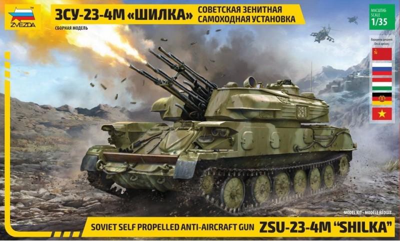 ZSU - 23 - 4M SHILKA Soviet self propelled anti aircraft gun