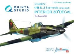 Il-2 Single seat Interior 3D Decal