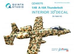 A-10A Interior 3D Decal
