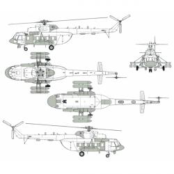 Mil Mi-8MTV-5-1PR Mosquito