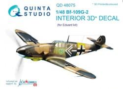 Bf-109G-2 Interior 3D Decal