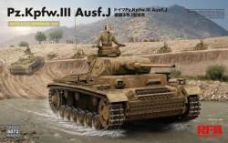 Pz. Kpfw. III Ausf. J w/ full interior