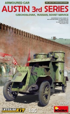 Austin Armoured Car 3rd Series:Czechoslovak,Russian,Soviet Service.Interior Kit