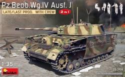 Pz.Beob.Wg.IV Ausf. J Late/Last Prod. 2 in 1 w/Crew
